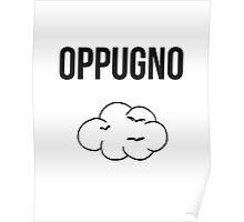 oppugno - harry potter spell [monochrome] Poster