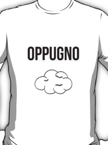 oppugno - harry potter spell [monochrome] T-Shirt