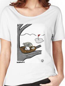 Golf Ball. Women's Relaxed Fit T-Shirt