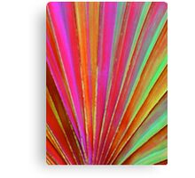 Fantasy Palm Leaf Abstract Canvas Print