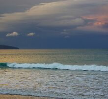 Apollo Bay - clouds across the ocean by imaginethis