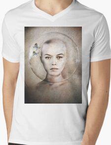 Inner World Mens V-Neck T-Shirt