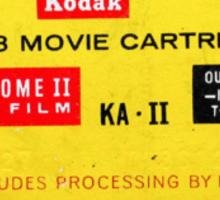 Super 8 - Includes Processing by Kodak Sticker