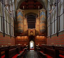 Rochester Cathedral Quire and Organ HDR by Dave Godden