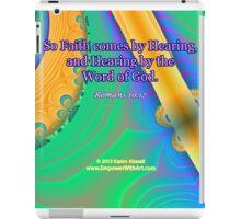 Faith Comes By Hearing iPad Case/Skin