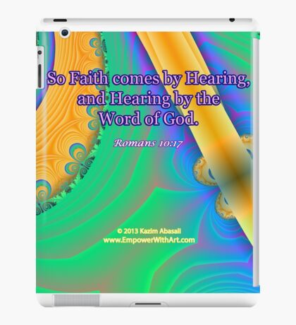 Faith Comes By Hearing iPad Case/Skin