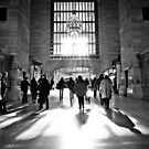 Grand Central shadows by Claire Penn