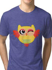 Cute miss owl Tri-blend T-Shirt