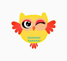 Cute miss owl Womens Fitted T-Shirt