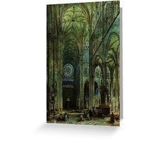 Emerald Arches Greeting Card