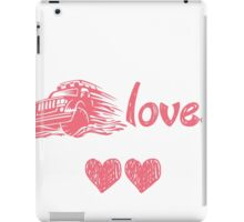 THIS GIRL LOVES TO DRIVE HER JEEP iPad Case/Skin
