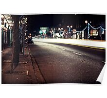 9th Avenue Time Lapse Poster