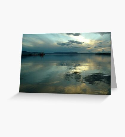 Afterglow (1) Greeting Card