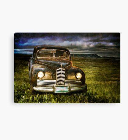 Auto at Dusk Canvas Print