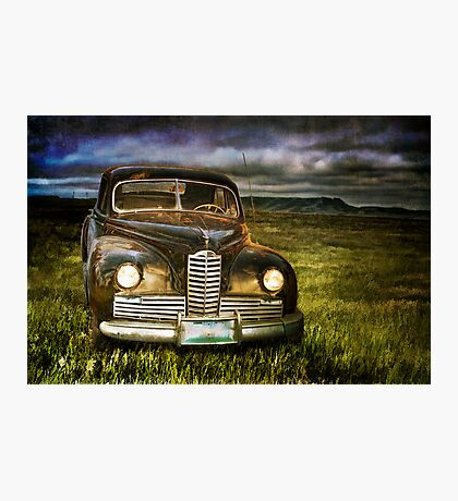 Auto at Dusk Photographic Print