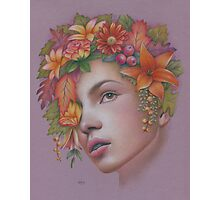 Goddess of Autumn Photographic Print