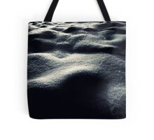 Snow Dunes Tote Bag