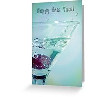 To the New Year! Greeting Card