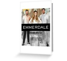 Emmerdale- Ross Barton Greeting Card