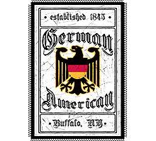 German American - Buffalo Photographic Print