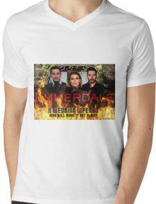 Emmerdale Summer Fate Mens V-Neck T-Shirt