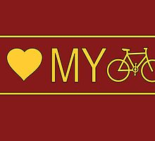 i love my bike by bicyclegood