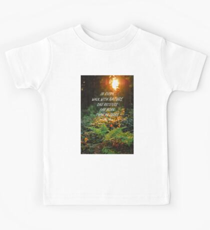 Walk with nature Kids Tee