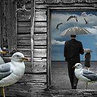 Gull Fantasy Dream by Randall Nyhof
