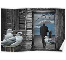 Gull Fantasy Dream Poster