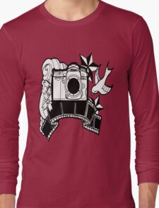 Camera Tattoo Long Sleeve T-Shirt