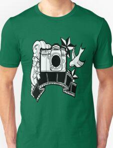 Camera Tattoo Unisex T-Shirt