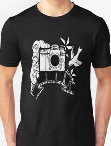Camera Tattoo Unisex T-Shirt