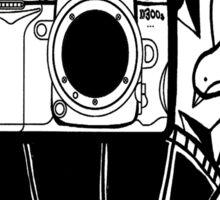 Camera Tattoo Sticker