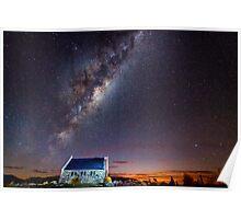 Milky Way Tekapo NZ Poster