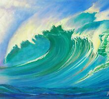 Wave Power by Magenta Wise