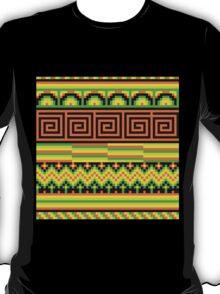 pixel pattern hipster shizzle  T-Shirt