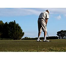 The Golfer Photographic Print