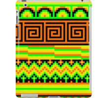 pixel pattern hipster shizzle  iPad Case/Skin
