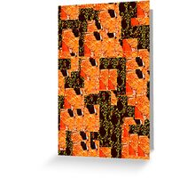 Red Desert Assemblage Greeting Card