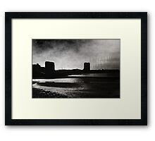 On Margate sands I can connect nothing with nothing Framed Print