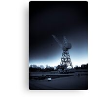 Old Crane Canvas Print