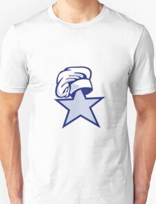 Star Chef Hat Retro T-Shirt