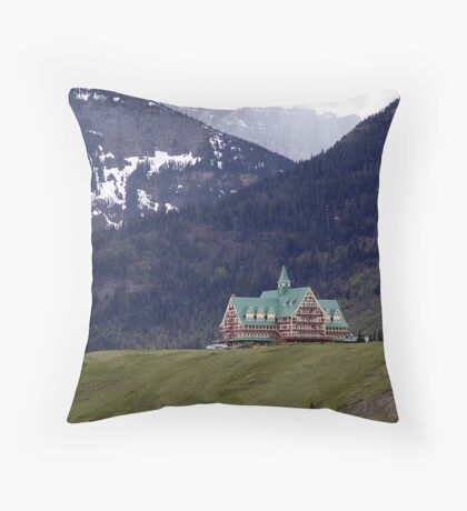 Prince of Wales Hotel Throw Pillow