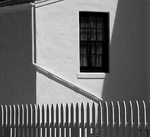 Picket Fence at Cabrillo 0331 by Randall Nyhof