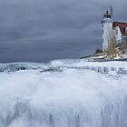 Point Betsie Lighthouse 090 by Randall Nyhof
