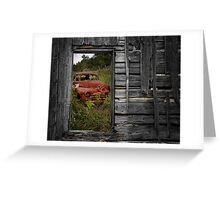 Ravages Of Time Greeting Card