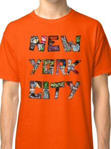 New York City Graffiti Street Art Classic T-Shirt
