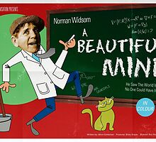 Norman Wisdom in A Beautiful Mind poster  by MovingMedia
