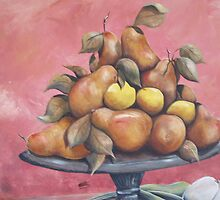 lemons and pears by Terri Rodstrom