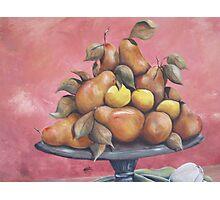 lemons and pears Photographic Print